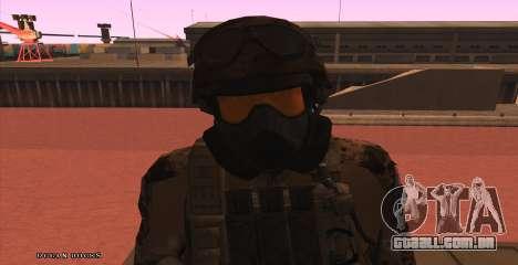 Global Defense Initiative Soldier para GTA San Andreas
