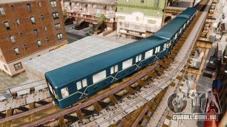 Cabeça de estacionamento subterrâneo modelos 81- para GTA 4