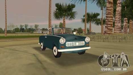 Trabant 601 Custom para GTA Vice City deixou vista