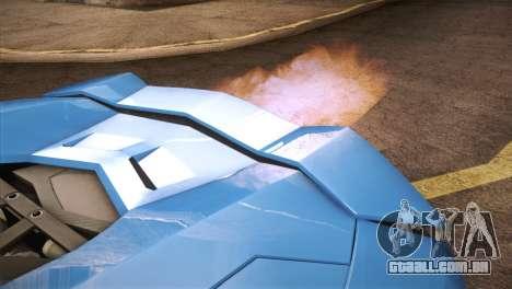 Lamborghini Aventador Roadster para GTA San Andreas