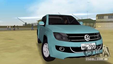 Volkswagen Amarok 2.0 TDi AWD Trendline 2012 para GTA Vice City vista direita