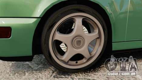 Porsche 911 Speedster para GTA 4 vista de volta