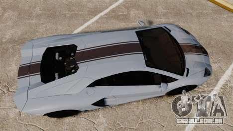 Lamborghini Aventador LP700-4 2012 [EPM] para GTA 4 vista direita