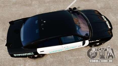 Dodge Charger 2011 Liberty Clinic Police [ELS] para GTA 4 vista direita