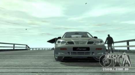 Daewoo Leganza para GTA 4 vista de volta