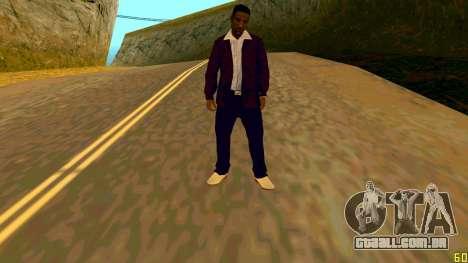 A nova textura Jizzy HQ para GTA San Andreas