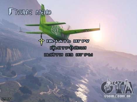 New Menu GTA 5 para GTA San Andreas
