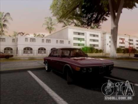 BMW 3.0 CSL 1971 para GTA San Andreas traseira esquerda vista