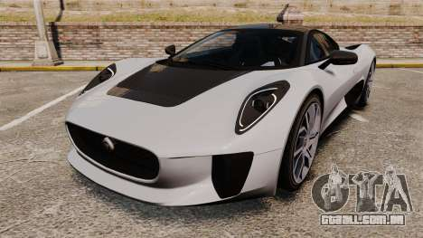 Jaguar C-X75 [EPM] Carbon Series para GTA 4