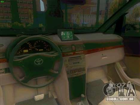 Toyota Alphard para GTA San Andreas vista traseira
