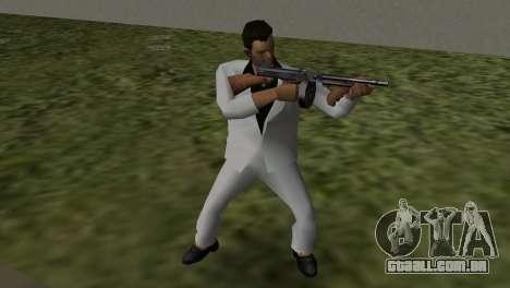 Terno Branco para GTA Vice City terceira tela