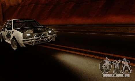 VAZ 2108 RDA para GTA San Andreas vista interior