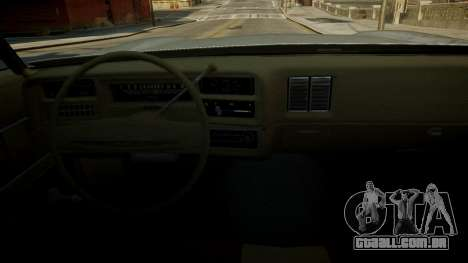 Chevrolet El Camino 1973 Old para GTA 4 interior
