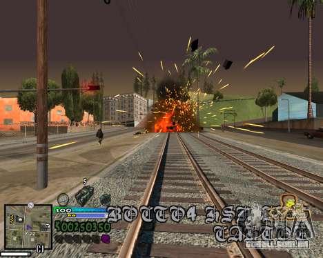 Vista da primeira pessoa para GTA San Andreas sexta tela