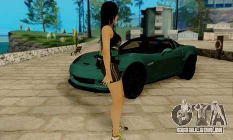 Kokoro A7X para GTA San Andreas terceira tela