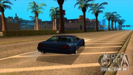 Elegy 4xget para GTA San Andreas esquerda vista