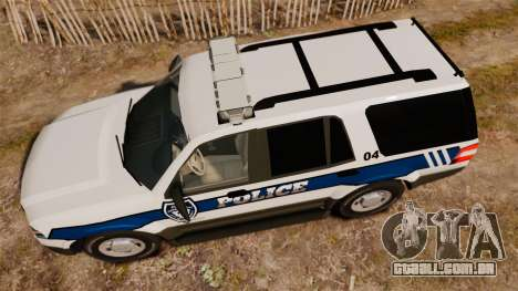 Ford Expedition LCPD SSV v2.5F [ELS] para GTA 4 vista direita