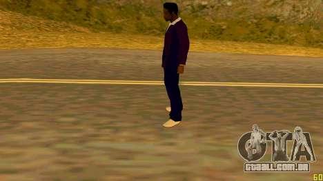 A nova textura Jizzy HQ para GTA San Andreas por diante tela