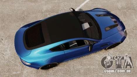 Aston Martin V12 Vantage S 2013 para GTA 4 vista direita
