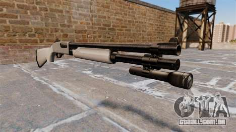 Riot espingarda Remington 870 Wingmaster para GTA 4