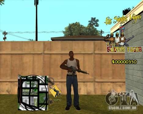 C-HUD LSVG para GTA San Andreas segunda tela