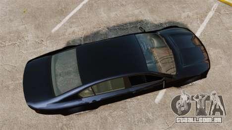 GTA V Cheval Fugitive para GTA 4 vista direita