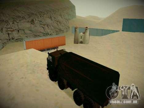 Pista de off-road para GTA San Andreas oitavo tela