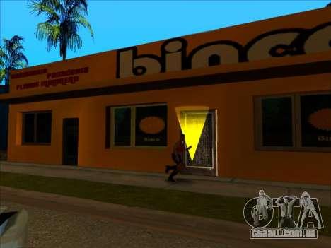 A nova textura loja Binco em LS para GTA San Andreas quinto tela