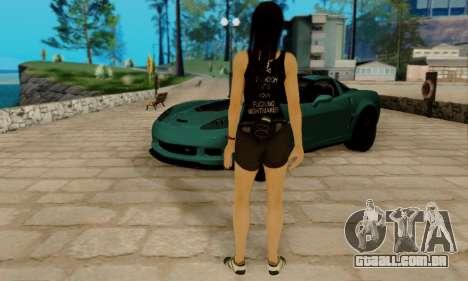 Kokoro A7X para GTA San Andreas quinto tela