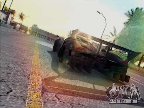 Pagani Zonda R 2009 para GTA San Andreas vista direita