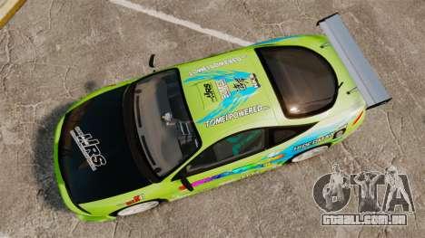 Mitsubishi Ecplise GS 1995 Racing Style para GTA 4 vista direita