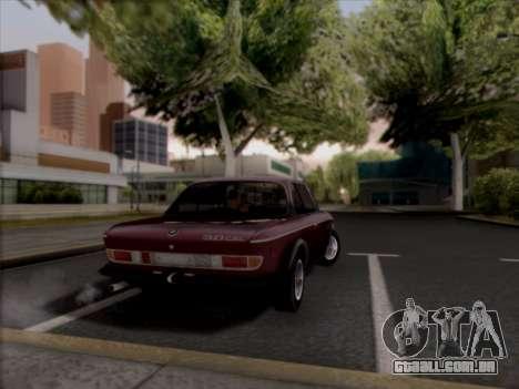 BMW 3.0 CSL 1971 para GTA San Andreas esquerda vista