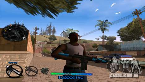C-HUD Slow para GTA San Andreas