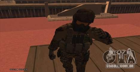 Global Defense Initiative Soldier para GTA San Andreas segunda tela