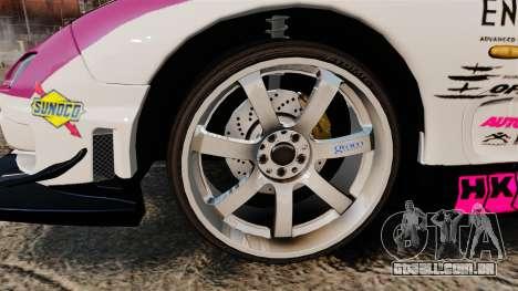 Mazda RX-7 D1 EXEDY para GTA 4 vista de volta