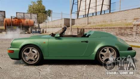 Porsche 911 Speedster para GTA 4 esquerda vista