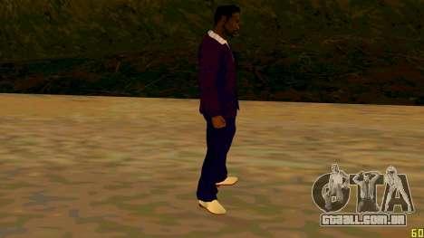 A nova textura Jizzy HQ para GTA San Andreas terceira tela