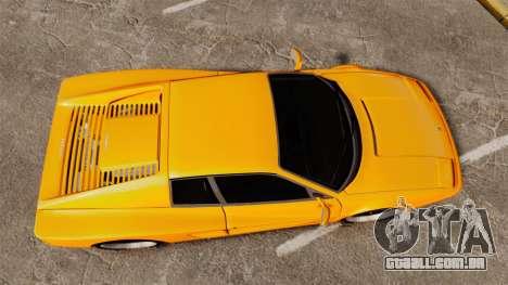 Ferrari Testarossa 512 TR v2.0 para GTA 4 vista direita
