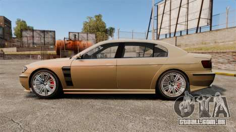Ubermacht Oracle tuning para GTA 4 esquerda vista