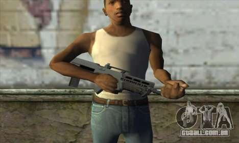 GTA V Advanced Rifle para GTA San Andreas terceira tela