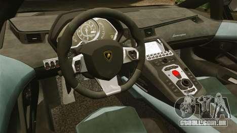 Lamborghini Aventador LP700-4 2012 [EPM] GoPro para GTA 4 vista interior