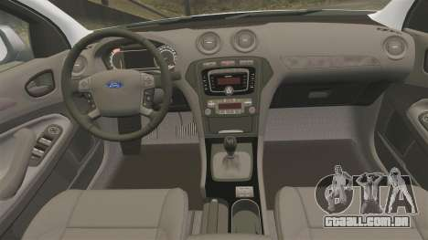 Ford Mondeo IV Wagon Police Nationale [ELS] para GTA 4 vista lateral