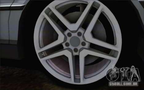 BMW 730d para GTA San Andreas traseira esquerda vista