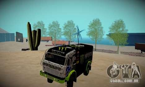 Pista de off-road para GTA San Andreas terceira tela