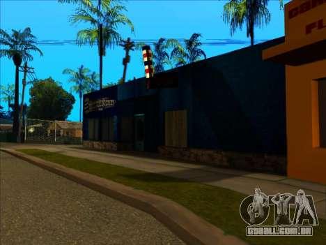 A nova textura loja Binco em LS para GTA San Andreas segunda tela