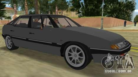 Citroen XM para GTA Vice City deixou vista