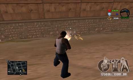 C-HUD Lite para GTA San Andreas terceira tela