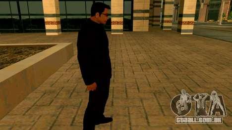A nova textura Wuzimu para GTA San Andreas por diante tela