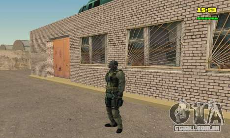 Кестрел Splinter Cell Conviction para GTA San Andreas por diante tela