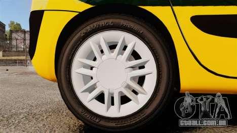 Renault Espace Police Nationale [ELS] para GTA 4 vista de volta